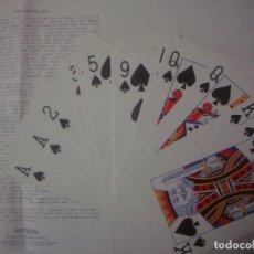 Libros de segunda mano: LIBRERIA GHOTICA. JUEGO DE MAGIA: JUMBO MARKED DECK. 1980. BARAJA GIGANTE E INSTRUCCIONES.. Lote 108738459