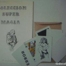 Libros de segunda mano: LIBRERIA GHOTICA. COLECCION SUPER MAGIA. ALEIX BADET. LA COMPUTADORA MAGICA. 1980. INCLUYE JUEGO.. Lote 108741123