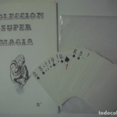 Libros de segunda mano: LIBRERIA GHOTICA. COLECCION SUPER MAGIA. APARICION SATANICA. 1980. INCLUYE BARAJA.. Lote 108741247