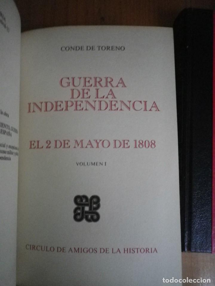 Libros de segunda mano: GUERRA DE INDEPENDENCIA 2 DE MAYO 1808 AMIGOS DE LA HISTORIA 3 TOMOS - Foto 2 - 108783323