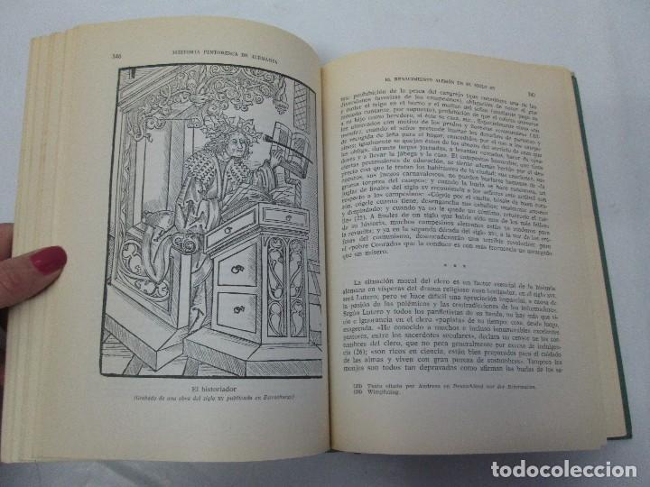 Libros de segunda mano: HISTORIA PINTORESCA DE ALEMANIA. TOMO I Y II. ROBERT COURAU. EDITOR LUIS DE CARALT 1966. - Foto 14 - 108794119
