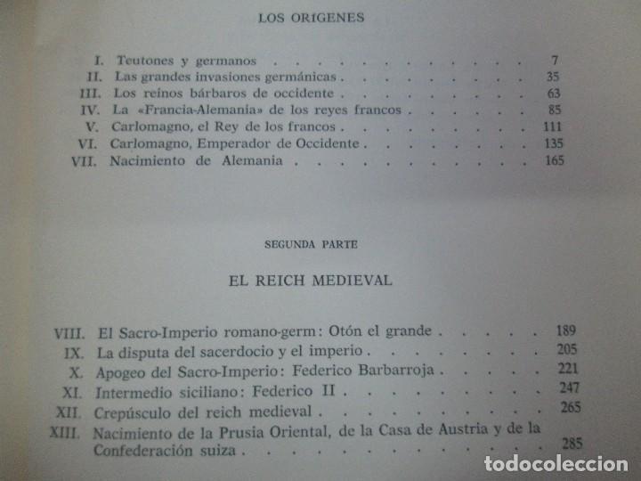 Libros de segunda mano: HISTORIA PINTORESCA DE ALEMANIA. TOMO I Y II. ROBERT COURAU. EDITOR LUIS DE CARALT 1966. - Foto 17 - 108794119