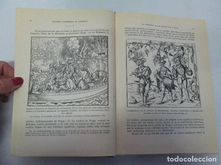 Libros de segunda mano: HISTORIA PINTORESCA DE ALEMANIA. TOMO I Y II. ROBERT COURAU. EDITOR LUIS DE CARALT 1966. - Foto 23 - 108794119
