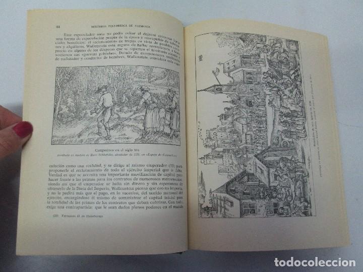Libros de segunda mano: HISTORIA PINTORESCA DE ALEMANIA. TOMO I Y II. ROBERT COURAU. EDITOR LUIS DE CARALT 1966. - Foto 26 - 108794119