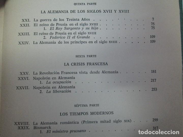 Libros de segunda mano: HISTORIA PINTORESCA DE ALEMANIA. TOMO I Y II. ROBERT COURAU. EDITOR LUIS DE CARALT 1966. - Foto 31 - 108794119
