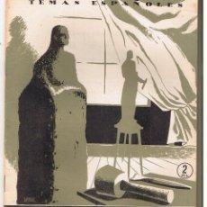 Libros de segunda mano: ESCULTORES ESPAÑOLES. POMPEY FRANCISCO. 1954. TEMAS ESPAÑOLES 113. Lote 108804219