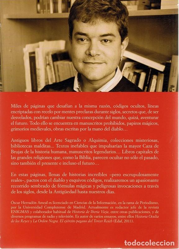 Libros de segunda mano: LIBROS MALDITOS ÓSCAR HERRADÓN AMEAL - Foto 2 - 108819267