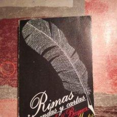 Libros de segunda mano: RIMAS, LEYENDAS Y CARTAS - GUSTAVO ADOLFO BÉCQUER. Lote 108820171