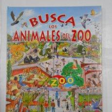 Libros de segunda mano: BUSCA LOS ANIMALES DEL ZOO. EDITORIAL SUSAETA. PERE ROVIRA. TDK326. Lote 108873063