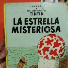 Libros de segunda mano: LIBRO TINTIN LA ESTRELLA MISTERIOSA TAPA DURA . Lote 108894551