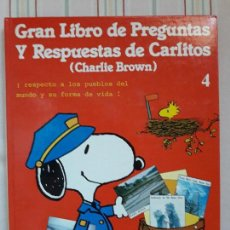 Libros de segunda mano: GRAN LIBRO DE PREGUNTAS Y RESPUESTAS DE CARLITOS 4-EDICIONES JUNIOR. Lote 108900775