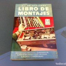 Libros de segunda mano - R.J. DE DARKNESS. LIBRO DE MONTAJES. Ed. BRUGUERA, 1954. - 108907299
