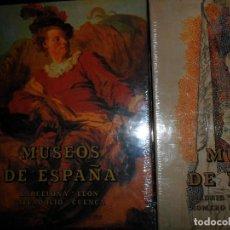 Libros de segunda mano: MUSEOS DE ESPAÑA, 2 TOMOS PRECINTADOS, ED. EVEREST. Lote 108909767