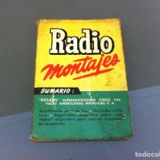Libros de segunda mano - R.J. DE DARKNESS. RADIO-MONTAJES. SELECCIÓN MUNDIAL DE REALIZACIONES PRÁCTICAS (Nº 4) BRUGUERA, 1955 - 108910375