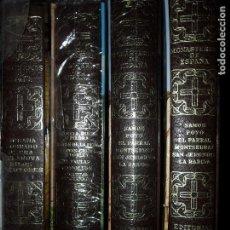 Libros de segunda mano: MONASTERIOS DE ESPAÑA, 3 TOMOS, ED. EVEREST, PRECINTADOS. Lote 108910915