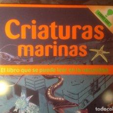 Libros de segunda mano: CURIOSO LIBRO LUZ CRIATURAS MARINAS EL LIBRO QUE SE PUEDE LEER EN LA OSCURIDAD EDITORIAL BRUÑO 2006. Lote 108923571