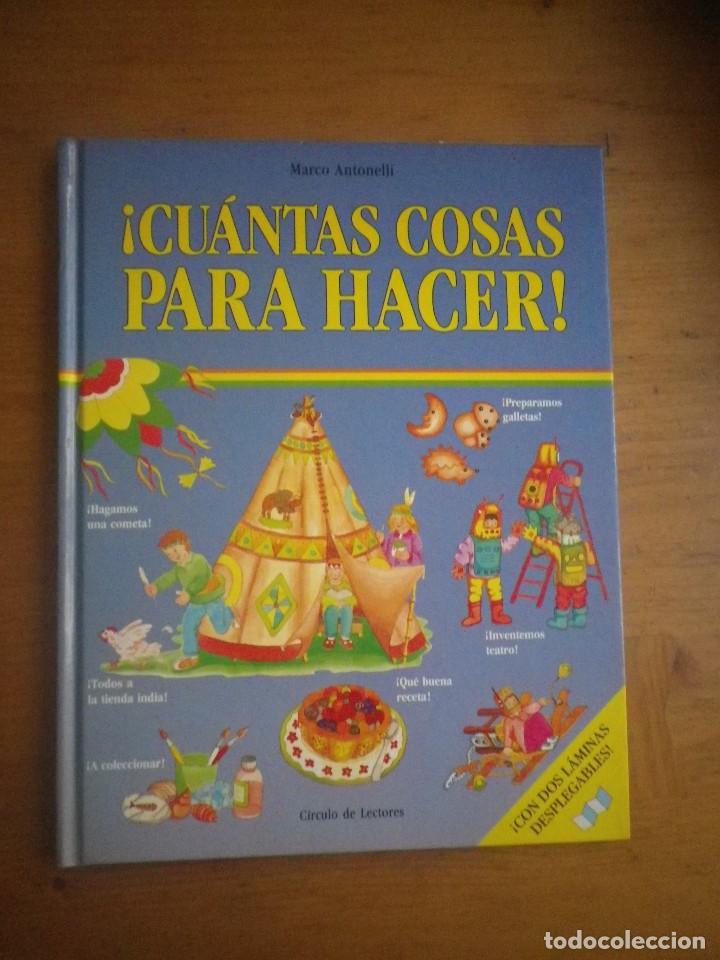 LIBRO INFANTIL CUANTAS COSS SABES HACER (Libros de Segunda Mano - Literatura Infantil y Juvenil - Otros)