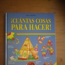 Libros de segunda mano: LIBRO INFANTIL CUANTAS COSS SABES HACER . Lote 108927155