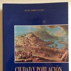 Libros de segunda mano: CARTAGENA- CIUDAD Y POBLACION - RAFAEL TORRES SANCHEZ 1.998. Lote 108873891