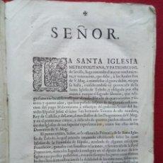 Libros de segunda mano: TUBAL BIBLIOTECA GARRIDO BARRERA ESPERA CADIZ 1722 MEMORIAL IGLESIA DE SEVILLA FELIPE V VER DESCRIP. Lote 109002887