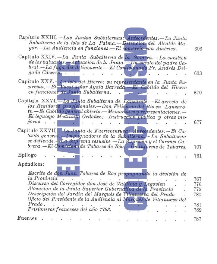 Libros de segunda mano: LA JUNTA SUPREMA DE CANARIAS I Y II BUENAVENTURA BONNET Y REVERÓN ANTONIO RUMEU DE ARMAS - HISTORIA - Foto 6 - 176523669