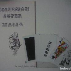 Libros de segunda mano: LIBRERIA GHOTICA. COLECCION SUPER MAGIA. 1980. LA COMPUTADORA MAGICA. ALEIX BADET. INCLUYE JUEGO.. Lote 109087703
