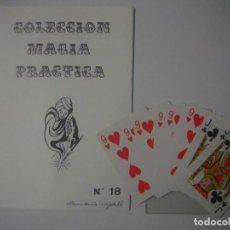 Libros de segunda mano: LIBRERIA GHOTICA. COLECCION SUPER MAGIA. 1980. COINCIDENCIA IMPOSIBLE, ALEIX BADET. INCLUYE CARTAS.. Lote 109088023