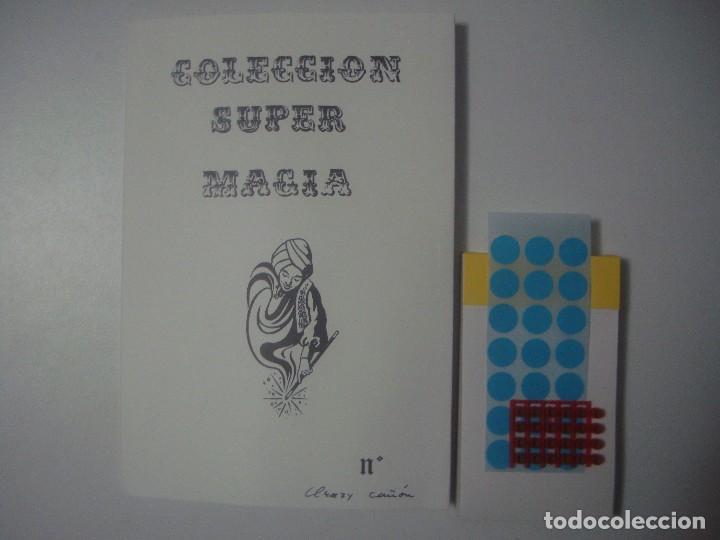 LIBRERIA GHOTICA. COLECCION SUPER MAGIA. 1980. CRAZY CAÑON. INCLUYE JUEGO. (Libros de Segunda Mano - Parapsicología y Esoterismo - Otros)