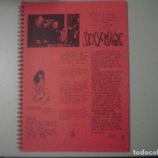 Libros de segunda mano: LIBRERIA GHOTICA. SEXY MAGIC. 1973. RARO LIBRO DE MAGIA. FOLIO. MUY ILUSTRADO.. Lote 109088523