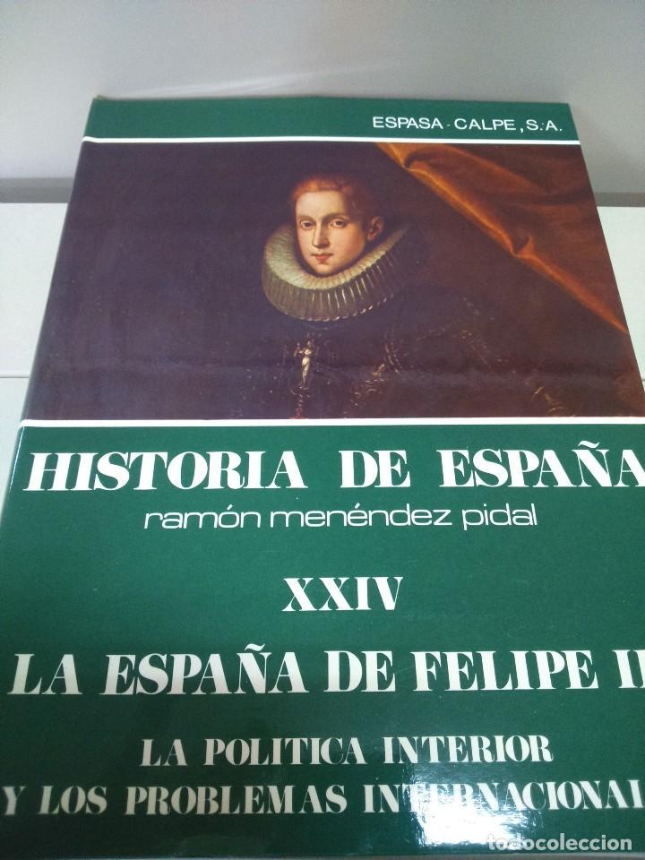 HISTORIA DE ESPAÑA -- TOMO XXIV -- RAMON MENDEZ PIDAL -- ESPASA CALPE -- 1979 -- (Libros de Segunda Mano - Historia - Otros)