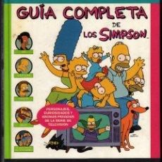 Libros de segunda mano: GUÍA COMPLETA DE LOS SIMPSONS POR MATT GROENING - 3ª EDICIÓN: ABRIL, 1999 · PESO: 925 GRAMOS -. Lote 109115339