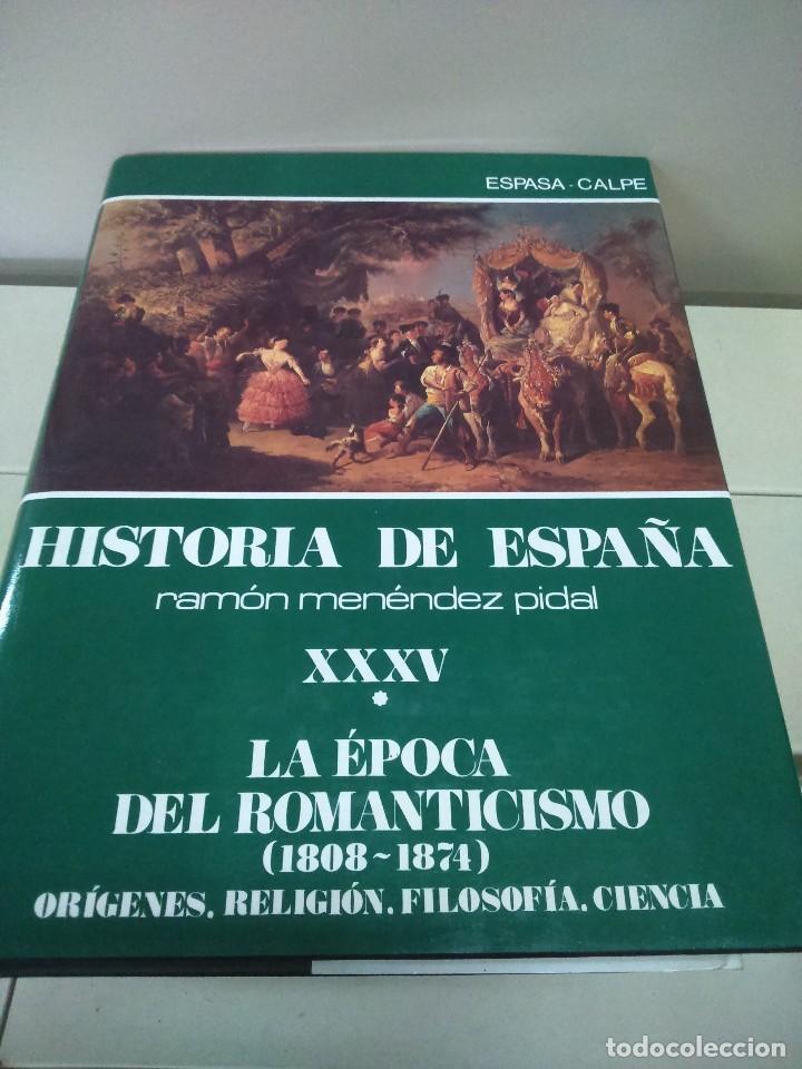 HISTORIA DE ESPAÑA -- TOMO XXXV - VOLUMEN I -- RAMON MENDEZ PIDAL -- ESPASA CALPE -- 1989 -- (Libros de Segunda Mano - Historia - Otros)