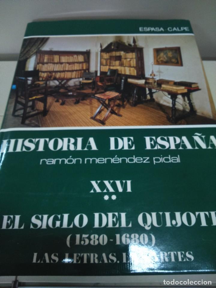 HISTORIA DE ESPAÑA -- TOMO XXVI - VOLUMEN II -- RAMON MENDEZ PIDAL -- ESPASA CALPE -- 1986 -- (Libros de Segunda Mano - Historia - Otros)