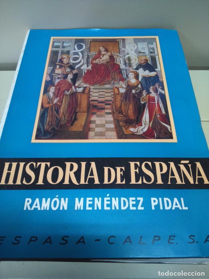 HISTORIA DE ESPAÑA --TOMO XVII - VOLUMEN II -- RAMON MENDEZ PIDAL -- ESPASA CALPE -- 1969 -- (Libros de Segunda Mano - Historia - Otros)