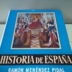 Libros de segunda mano: HISTORIA DE ESPAÑA --TOMO XVII - VOLUMEN II -- RAMON MENDEZ PIDAL -- ESPASA CALPE -- 1969 --. Lote 109156599