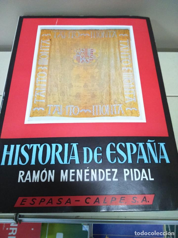 HISTORIA DE ESPAÑA --TOMO XVII - VOLUMEN I -- RAMON MENDEZ PIDAL -- ESPASA CALPE -- 1969 -- (Libros de Segunda Mano - Historia - Otros)