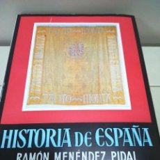 Libros de segunda mano: HISTORIA DE ESPAÑA --TOMO XVII - VOLUMEN I -- RAMON MENDEZ PIDAL -- ESPASA CALPE -- 1969 --. Lote 109156779