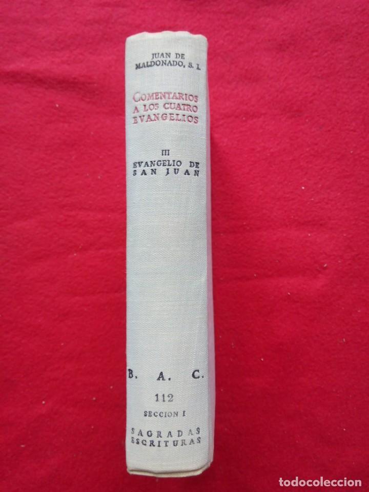 TUBAL BIBLIOTECA JOSE MARÍA GARRIDO BARRERA ESPERA CADIZ COMENTARIOS AL EVANGELIO DE SAN JUAN BAC (Libros de Segunda Mano - Bellas artes, ocio y coleccionismo - Otros)