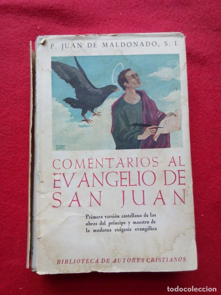 Libros de segunda mano: TUBAL BIBLIOTECA JOSE MARÍA GARRIDO BARRERA ESPERA CADIZ COMENTARIOS AL EVANGELIO DE SAN JUAN BAC - Foto 6 - 109158275