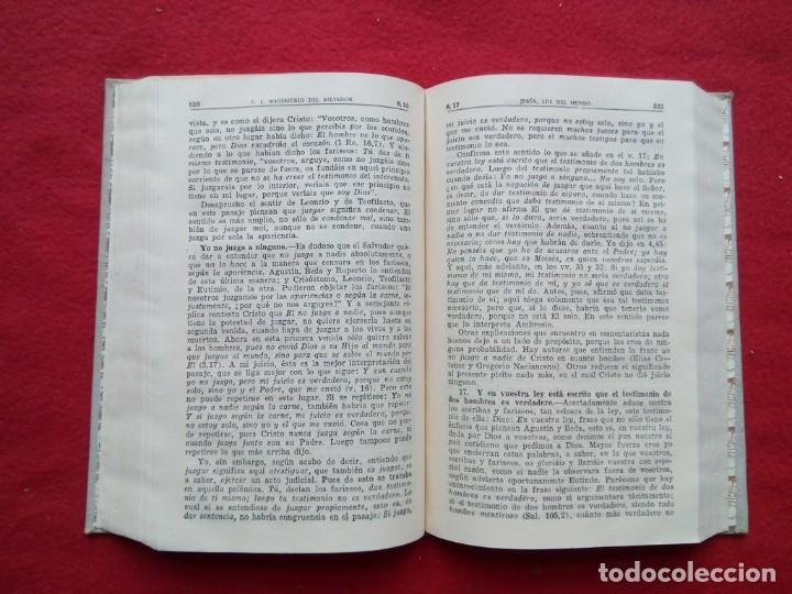 Libros de segunda mano: TUBAL BIBLIOTECA JOSE MARÍA GARRIDO BARRERA ESPERA CADIZ COMENTARIOS AL EVANGELIO DE SAN JUAN BAC - Foto 7 - 109158275