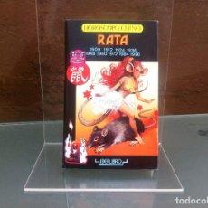 Libros de segunda mano: HORÓSCOPO CHINO. RATA. ED. IBERLIBRO, 1988. Lote 109191443