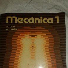 Libros de segunda mano: LOTE DE LIBROS - MECÁNICA 1 Y 2 EDITORIAL TRILLAS - 1979 - MÉXICO - PRIMERA EDICIÓN. Lote 109252587