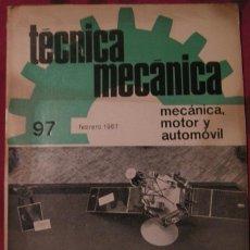 Libros de segunda mano - TÉCNICA MECÁNICA. MECÁNICA, MOTOR Y AUTOMÓVIL (CEAC Nº 97-FEBRERO 1967) - 109278635