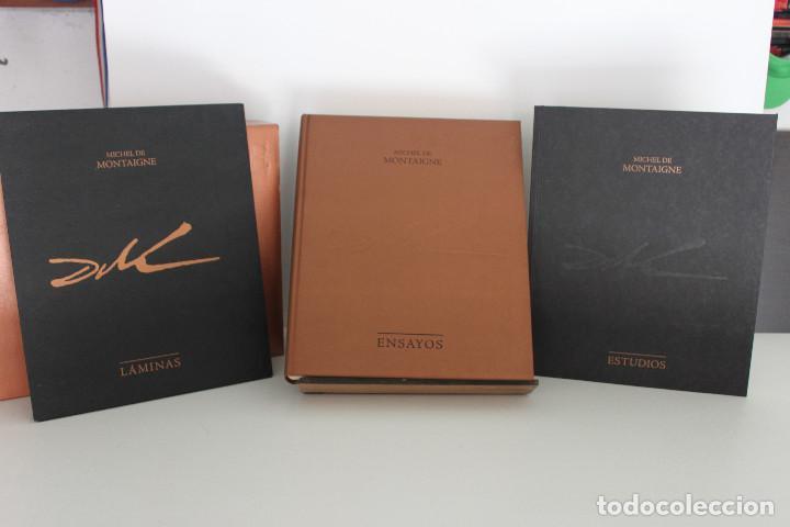 Libros de segunda mano: Ensayos. Michel de Montaigne. Ilustraciones Salvador Dalí. - Foto 2 - 109356283