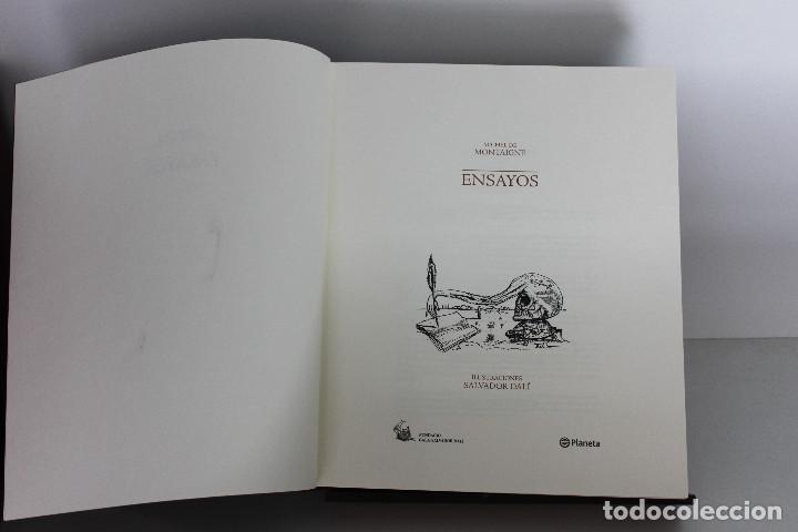 Libros de segunda mano: Ensayos. Michel de Montaigne. Ilustraciones Salvador Dalí. - Foto 3 - 109356283