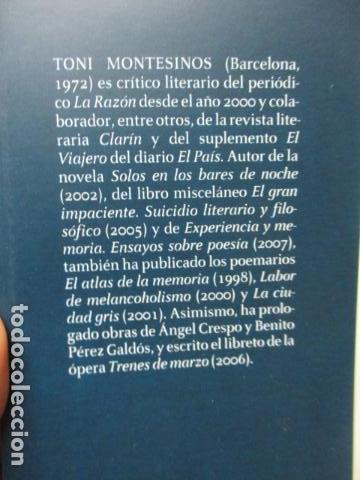 Libros de segunda mano: Hildur de Toni Montesinos - Como nuevo - Foto 4 - 109401191