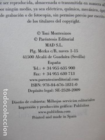 Libros de segunda mano: Hildur de Toni Montesinos - Como nuevo - Foto 5 - 109401191