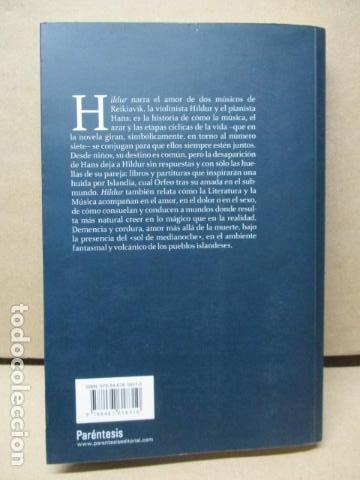 Libros de segunda mano: Hildur de Toni Montesinos - Como nuevo - Foto 7 - 109401191