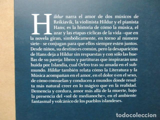 Libros de segunda mano: Hildur de Toni Montesinos - Como nuevo - Foto 8 - 109401191