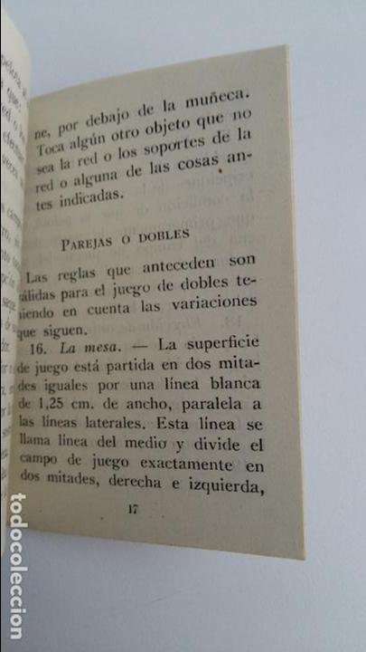 Libros de segunda mano: PEQUEÑO REGLAMENTO TECNICO DE JUEGO. FEDERACION ESPAÑOLA DE TENIS DE MESA. FET Y JONS. 1944 - Foto 2 - 109432835